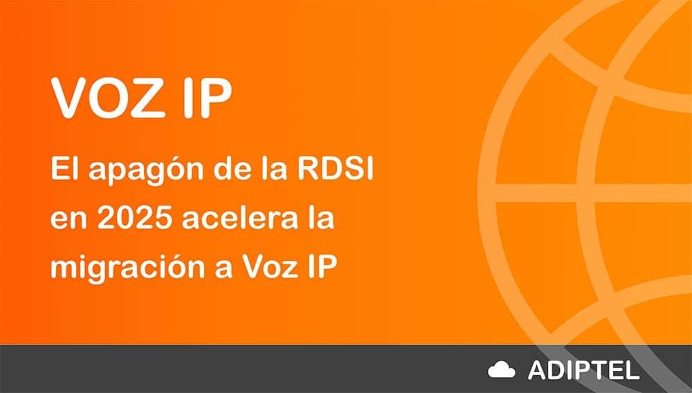 El apagón de la RDSI en 2025 acelera la migración a Voz IP