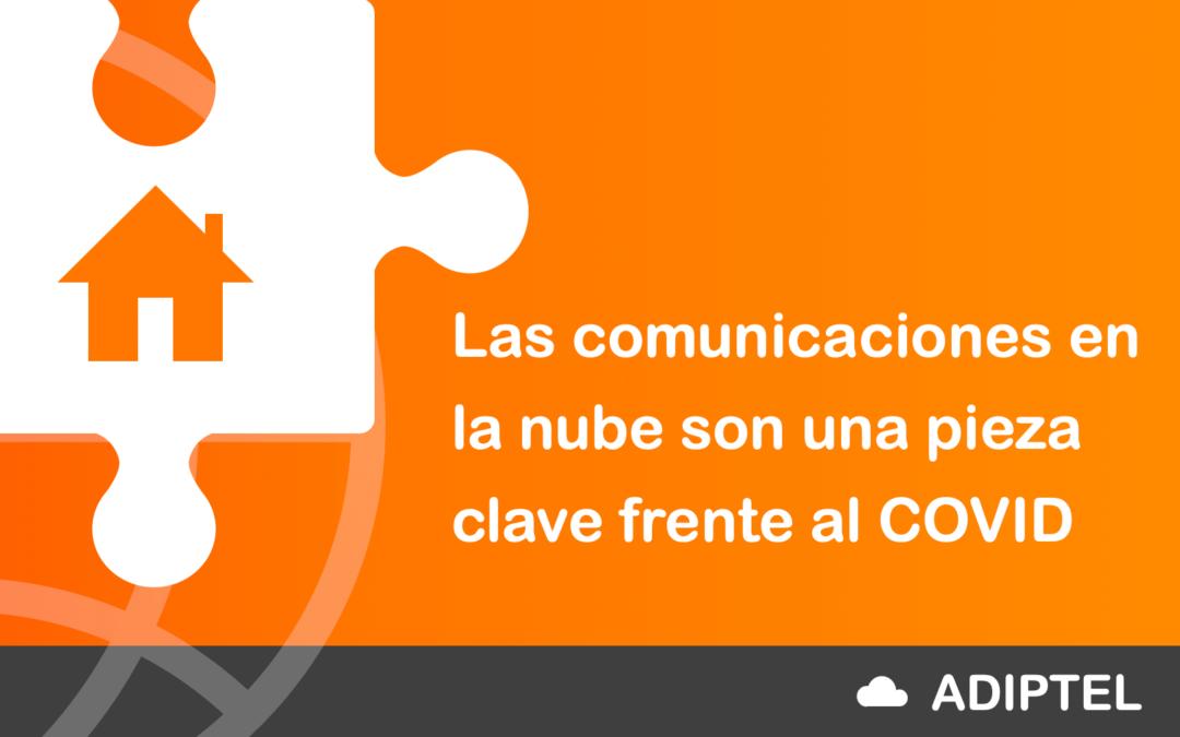 Las comunicaciones en la nube una pieza clave frente al COVID